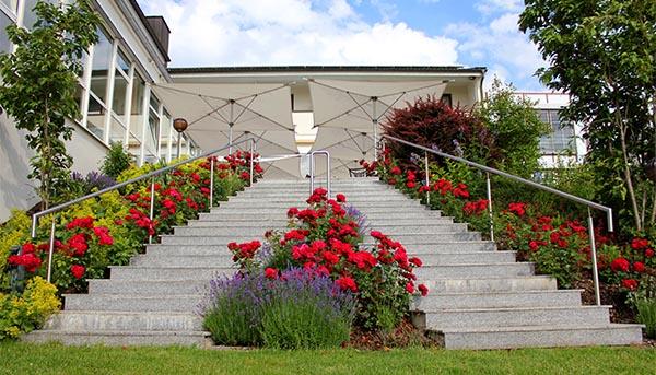 Hochzeit in Donauwörth - Außenanlage Parkhotel